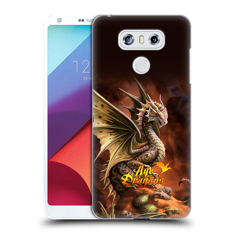 Official Anne Stokes Age Of Dragons Hard Back Case for LG G6