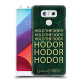 Official HBO Game of Thrones Hodor Hard Back Case for LG G6