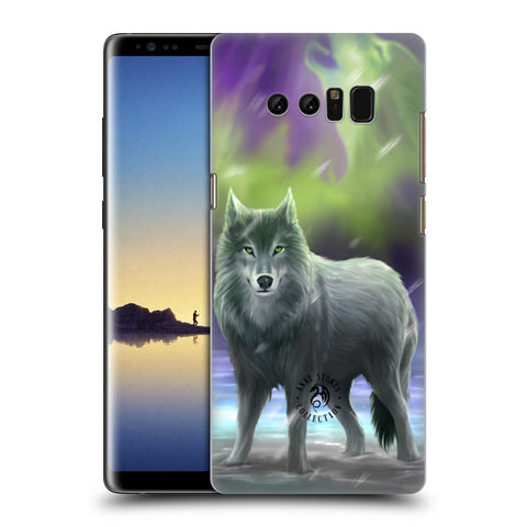 Official Anne Stokes Wolves Hard Back Case for Samsung Galaxy Note8