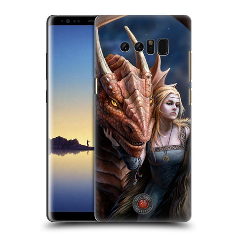 Official Anne Stokes Dragon Friendship 2 Hard Back Case for Samsung Galaxy Note8