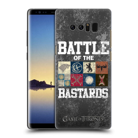 Official HBO Game of Thrones Battle Of The Bastards Hard Back Case for Samsung Galaxy Note8