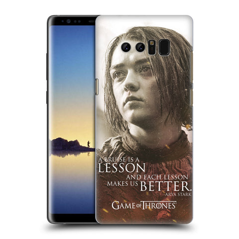 Official HBO Game of Thrones Character Portraits Hard Back Case for Samsung Galaxy Note8