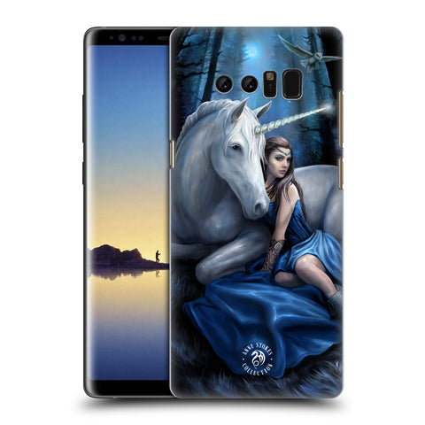 Official Anne Stokes Unicorns Hard Back Case for Samsung Galaxy Note8