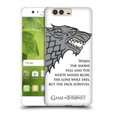 Official HBO Game of Thrones Graphics Hard Back Case for Huawei P10