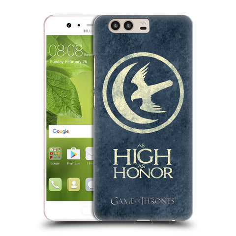 Official HBO Game of Thrones Dark Distressed Sigils Hard Back Case for Huawei P10