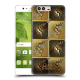 Official HBO Game of Thrones Golden Sigils Hard Back Case for Huawei P10
