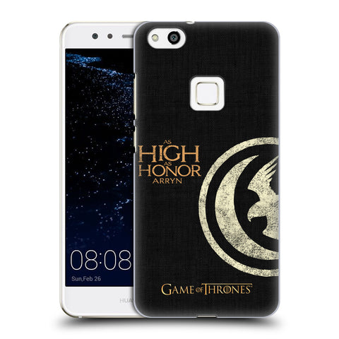 Official HBO Game of Thrones House Mottos Hard Back Case for Huawei P10 Lite