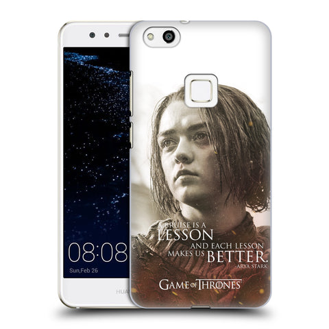 Official HBO Game of Thrones Character Portraits Hard Back Case for Huawei P10 Lite