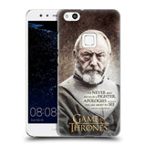Official HBO Game of Thrones Character Quotes Hard Back Case for Huawei P10 Lite