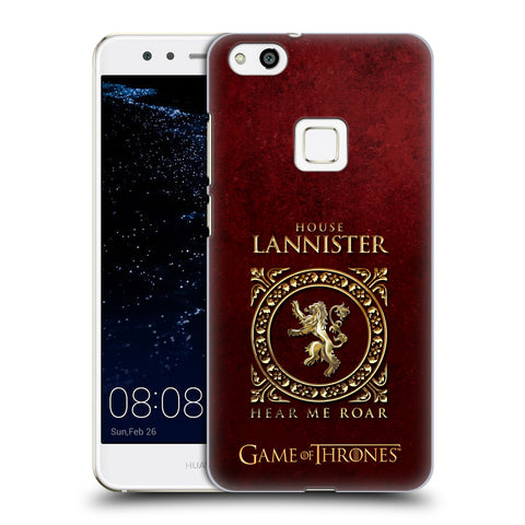 Official HBO Game of Thrones Metallic Sigils Hard Back Case for Huawei P10 Lite