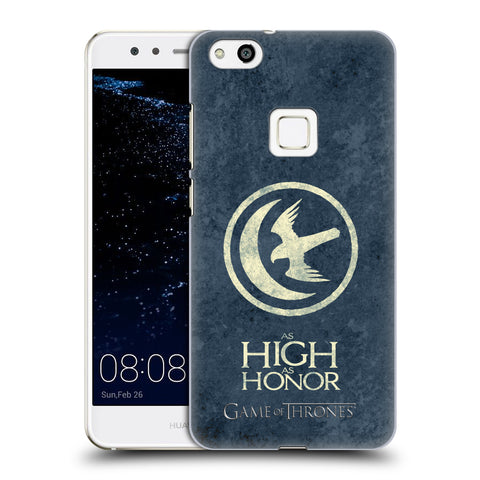 Official HBO Game of Thrones Dark Distressed Sigils Hard Back Case for Huawei P10 Lite
