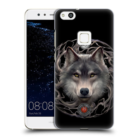 Official Anne Stokes Wolves 2 Hard Back Case for Huawei P10 Lite