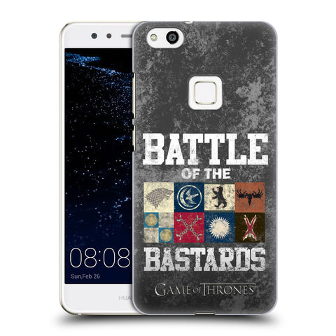 Official HBO Game of Thrones Battle Of The Bastards Hard Back Case for Huawei P10 Lite