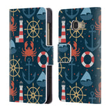 Official Julia Badeeva  Assorted Patterns 2 Leather Book Wallet Case Cover For Samsung Galaxy A3 (2017)