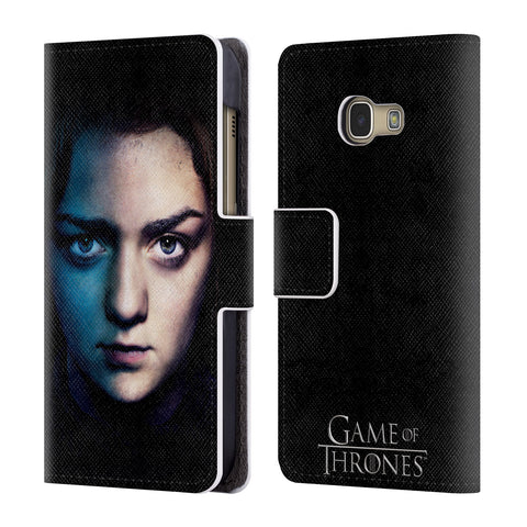 Official HBO Game of Thrones Valar Morghulis Leather Book Wallet Case Cover For Samsung Galaxy A3 (2017)