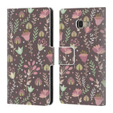 Official Julia Badeeva  Floral Patterns 2 Leather Book Wallet Case Cover For Samsung Galaxy A5 (2017)
