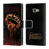 Official HBO Game of Thrones Key Art Leather Book Wallet Case Cover For Samsung Galaxy A5 (2017)