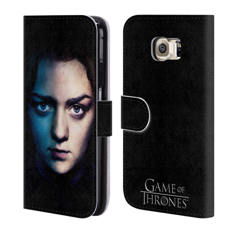 Official HBO Game of Thrones Valar Morghulis Leather Book Wallet Case Cover For Samsung Galaxy S6