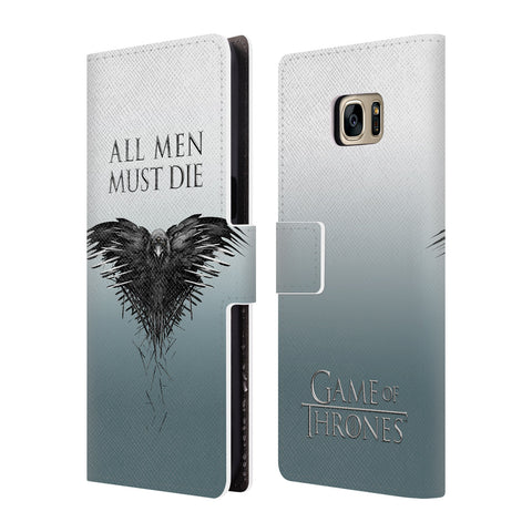 Official HBO Game of Thrones Key Art Leather Book Wallet Case Cover For Samsung Galaxy S7 Edge