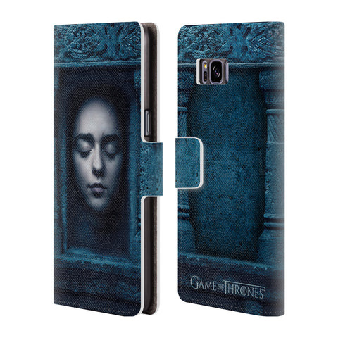 Official HBO Game of Thrones Faces 2 Leather Book Wallet Case Cover For Samsung Galaxy S8+ S8 Plus