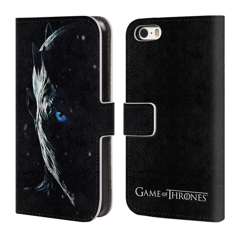 Official HBO Game of Thrones Season 7 Key Art Leather Book Wallet Case Cover For Apple iPhone 5 5S SE