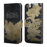 Official HBO Game of Thrones Key Art Leather Book Wallet Case Cover For Apple iPhone 6 6S