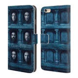Official HBO Game of Thrones Faces 2 Leather Book Wallet Case Cover For Apple iPhone 6 Plus / 6S Plus