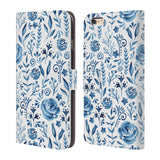 Official Julia Badeeva  Floral Patterns 2 Leather Book Wallet Case Cover For Apple iPhone 6 Plus / 6S Plus