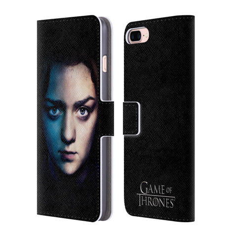 Official HBO Game of Thrones Valar Morghulis Leather Book Wallet Case Cover For Apple iPhone 7 Plus / 8 Plus