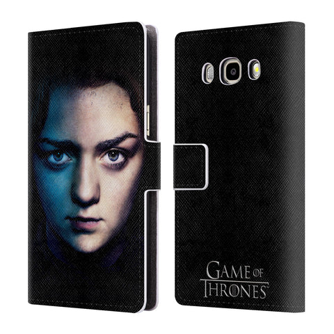Official HBO Game of Thrones Valar Morghulis Leather Book Wallet Case Cover For Samsung Galaxy J5 (2016)