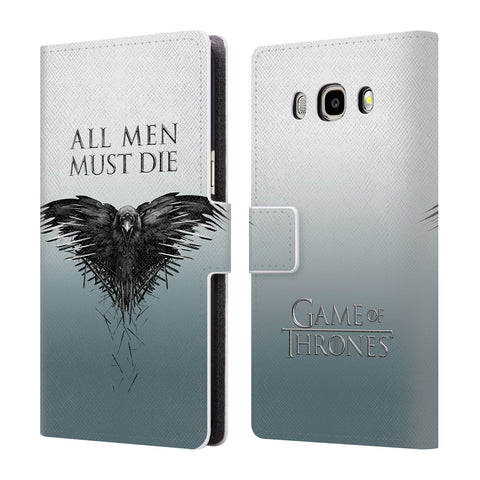 Official HBO Game of Thrones Key Art Leather Book Wallet Case Cover For Samsung Galaxy J5 (2016)