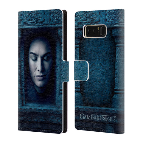 Official HBO Game of Thrones Faces Leather Book Wallet Case Cover For Samsung Galaxy Note8