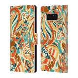 Official Julia Badeeva  Assorted Patterns 2 Leather Book Wallet Case Cover For Samsung Galaxy Note8