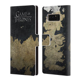 Official HBO Game of Thrones Key Art Leather Book Wallet Case Cover For Samsung Galaxy Note8