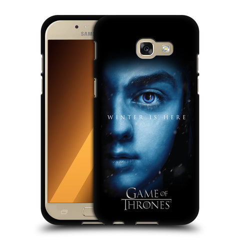 Official HBO Game of Thrones Winter Is Here Black Soft Gel Case for Samsung Galaxy A5 (2017)