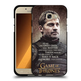 Official HBO Game of Thrones Character Quotes Black Soft Gel Case for Samsung Galaxy A5 (2017)