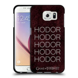 Official HBO Game of Thrones Hodor Black Soft Gel Case for Samsung Galaxy S6