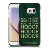 Official HBO Game of Thrones Hodor Black Soft Gel Case for Samsung Galaxy S7