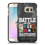 Official HBO Game of Thrones Battle Of The Bastards Black Soft Gel Case for Samsung Galaxy S7 Edge