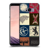 Official HBO Game of Thrones Battle Of The Bastards Black Soft Gel Case for Samsung Galaxy S8+ S8 Plus