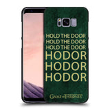 Official HBO Game of Thrones Hodor Black Soft Gel Case for Samsung Galaxy S8+ S8 Plus