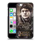 Official HBO Game of Thrones Character Quotes Black Soft Gel Case for Apple iPhone 5 5S SE