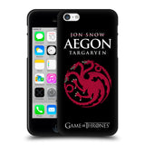 Official HBO Game of Thrones Graphics Black Soft Gel Case for Apple iPhone 5 5S SE