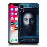 Official HBO Game of Thrones Faces 2 Black Soft Gel Case for Apple iPhone X / iPhone XS