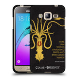 Official HBO Game of Thrones Graphics Black Soft Gel Case for Samsung Galaxy J3