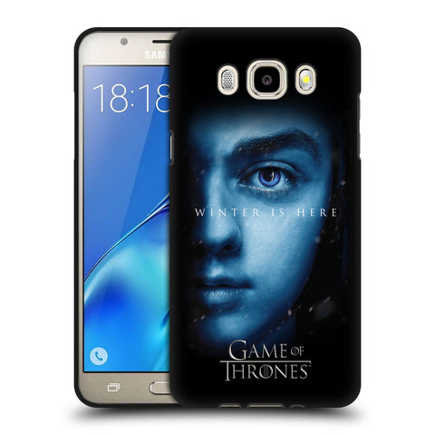 Official HBO Game of Thrones Winter Is Here Black Soft Gel Case for Samsung Galaxy J5 (2016)