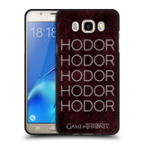 Official HBO Game of Thrones Hodor Black Soft Gel Case for Samsung Galaxy J5 (2016)