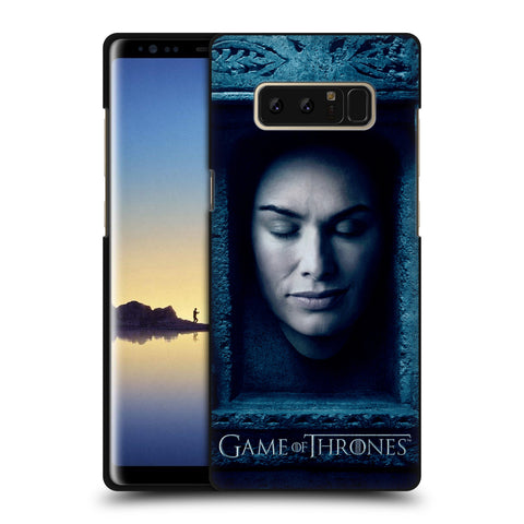 Official HBO Game of Thrones Faces Black Soft Gel Case for Samsung Galaxy Note8