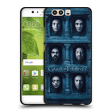 Official HBO Game of Thrones Faces 2 Black Soft Gel Case for Huawei P10