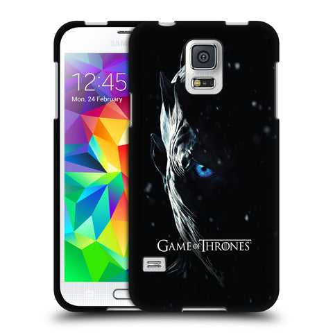 Official HBO Game of Thrones Season 7 Key Art Black Soft Gel Case for Samsung Galaxy S5 / S5 Neo